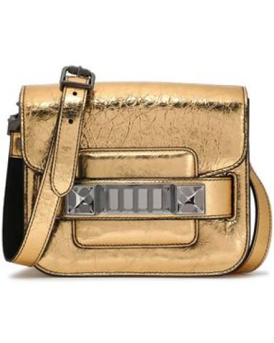 Proenza Schouler Damen PS11 embellished mirrored cracked-leather shoulder bag Besuchen Neue Billig Verkauf Finden Große Schnelle Lieferung Bester Platz 4Thyx
