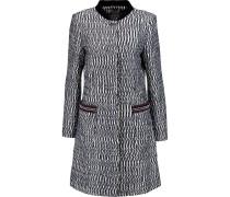 Tweed Coat Schwarz