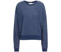 Brigitte Mélange Cotton-fleece Sweatshirt