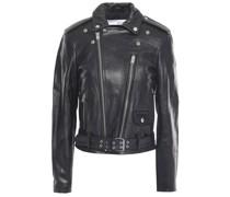 Letto Leather Biker Jacket