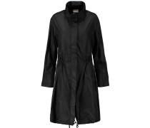 Hooded Shell Coat Schwarz
