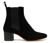 Carly Ankle Boots aus Veloursleder