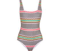 Mare Crochet-knit Swimsuit Mehrfarbig