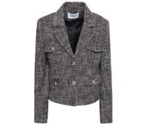 Jacke aus Tweed aus Einer Baumwollmischung