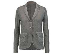 Cotton And Cashmere-blend Blazer Grau