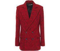 Gilroy Double-breasted Wool-blend Bouclé Blazer