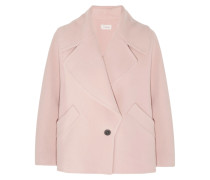 Moya Wool And Cashmere-blend Jacket Puder