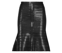 Kristyna Sequined Bandage Skirt Schwarz