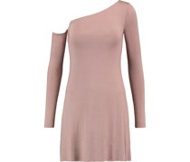 One-shoulder Jersey Mini Dress