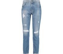Distressed Boyfriend Jeans Heller Denim