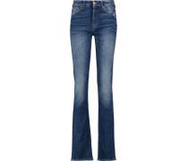 Kimmie Mid-rise Slim-leg Jeans Dunkler Denim