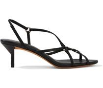 Louise Slingback-sandalen aus Leder