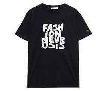 Fashion Neurosis T-shirt aus Baumwoll-jersey mit Print
