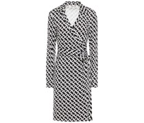 New Jeanne Two Leopard-print Silk-jersey Wrap Dress