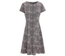 Flared Jacquard-knit Dress