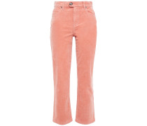 Maza Stretch-cotton Corduroy Kick-flare Pants