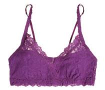 Signature Valerie stretch-lace soft-cup bra