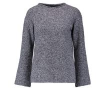Cutout Bouclé Sweater Anthrazit