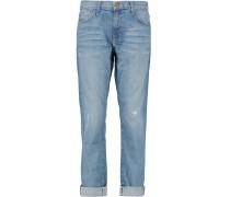 The Fling Low-rise Boyfriend Jeans Heller Denim