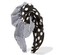 Printed cotton-twill headband