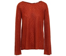 Knotted Cashmere And Silk-blend Sweater
