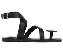 Basma Sandalen aus Leder