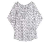 Clara printed voile coverup