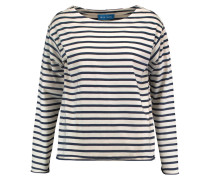 Striped Cotton Top Navy