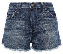 The Boyfriend Distressed Denim Shorts