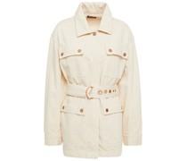 Field Jacket aus Denim mit Gürtel