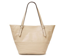 Pebbled-leather Tote