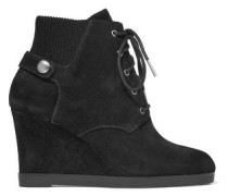 Carrigan suede wedge ankle boots