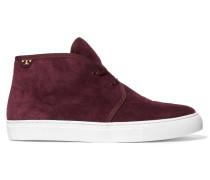 Iggy Suede High-top Sneakers Burgunder