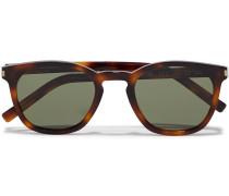 Sl28 D-frame Tortoiseshell Acetate Sunglasses