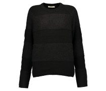 Rodeo Paneled Knitted Sweater Schwarz