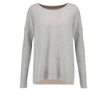 Wool And Cashmere-blend Sweater Grau