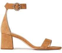 Farioz Sandalen aus Veloursleder