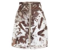 Bedruckte Shorts aus Shell