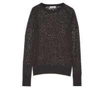Sloane Devoré Sweater Schiefer