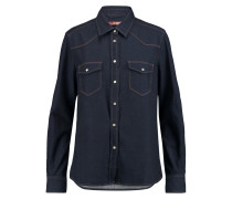 Denim Shirt Dunkler Denim