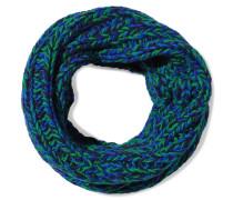 My Boyfriend Cable-knit Wool Scarf Kobaltblau