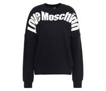 Bedrucktes Sweatshirt aus Baumwollfrottee