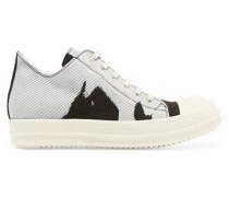 Drkshdw Printed Canvas Sneakers Grau