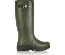 Tall Snow Wellington Boots Armeegrün