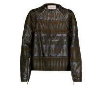 Metallic jacquard jacket
