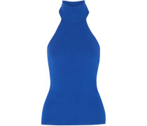 Woman Adalie Stretch-knit Top Royal Blue