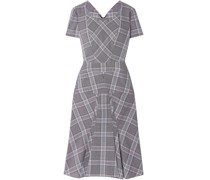 Bowland Checked Wool Dress