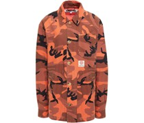 Printed Cotton-canvas Field Jacket