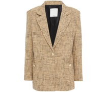 Blazer aus Tweed aus Einer Baumwollmischung