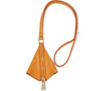 Leather Keychain Orange